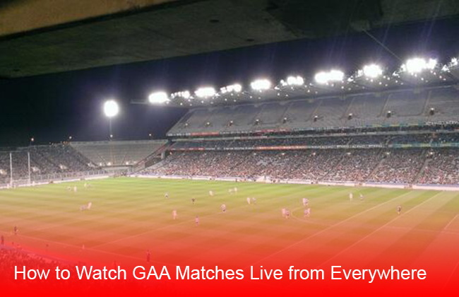 watch GAA live online