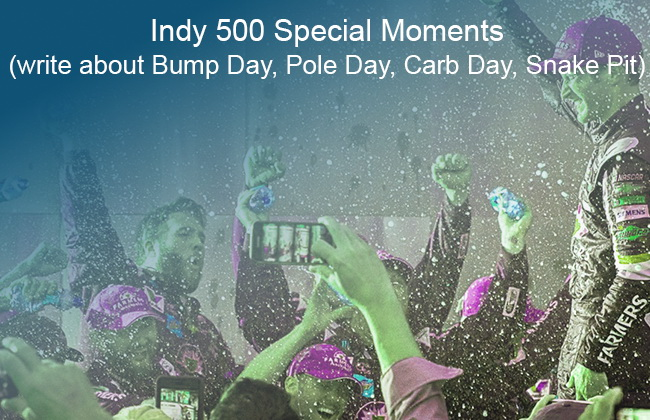 Indy 500 Special Moments