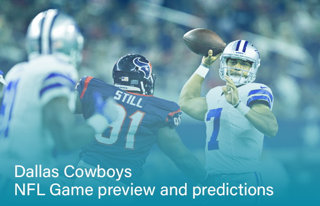 Dallas Cowboys NFL Game preview and predictions