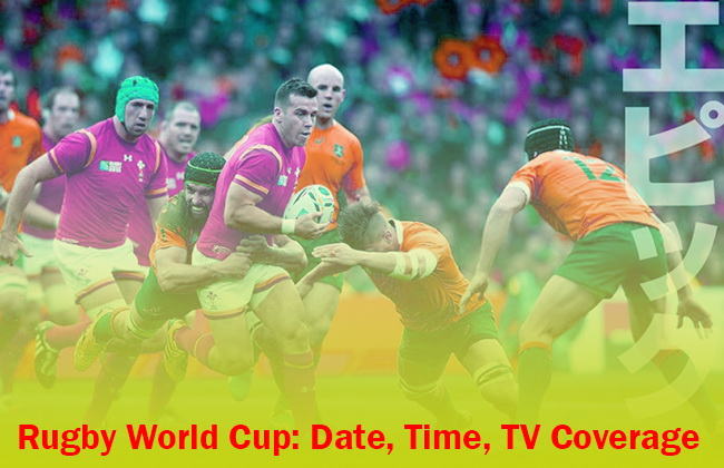 Rugby World Cup: Date, Time, TV Coverage