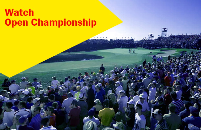 Watch Open Championship from everywhere